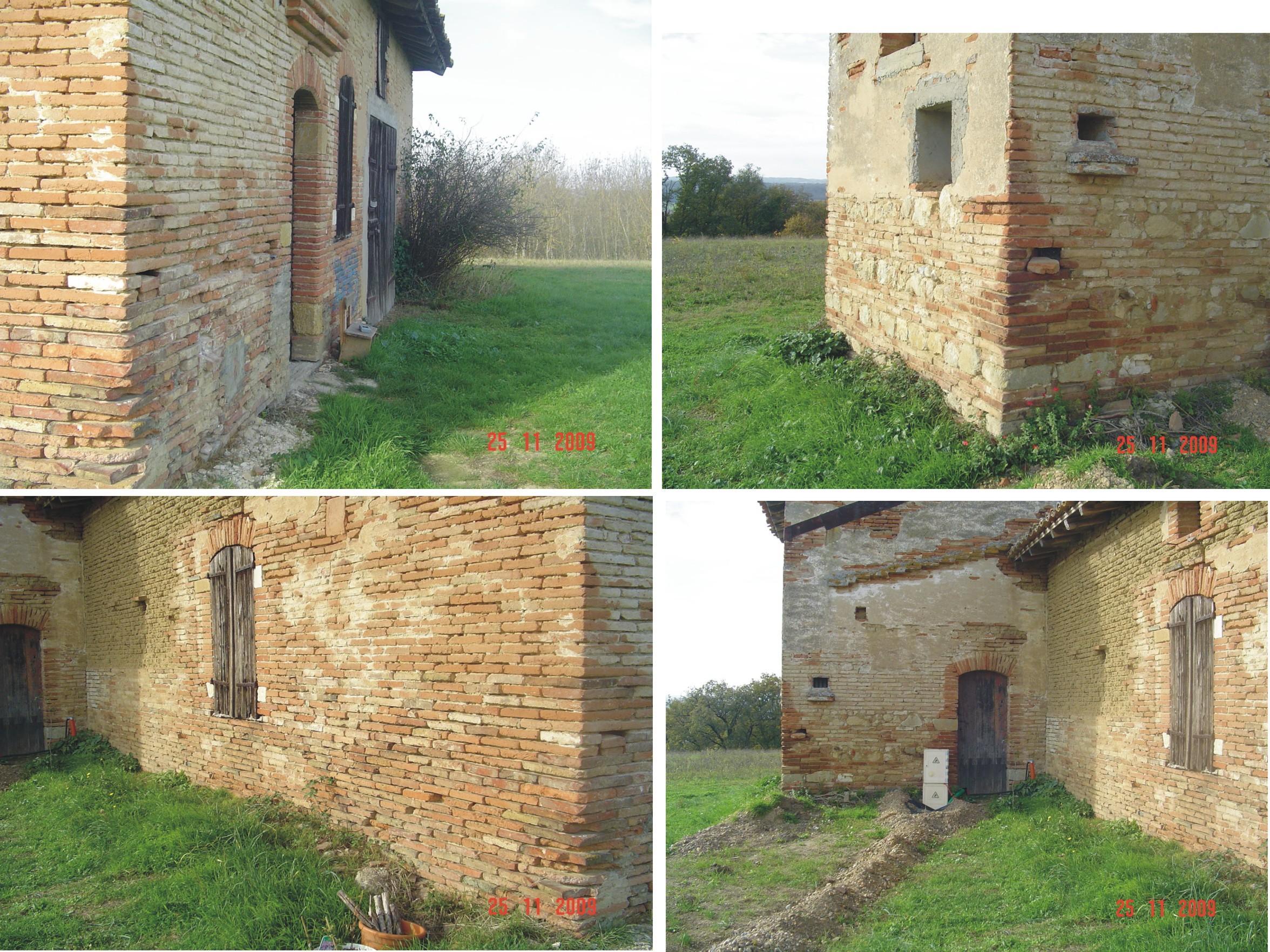 Transformation d 39 une ancienne ferme en maison d 39 habitation - Humidite dans maison ancienne ...